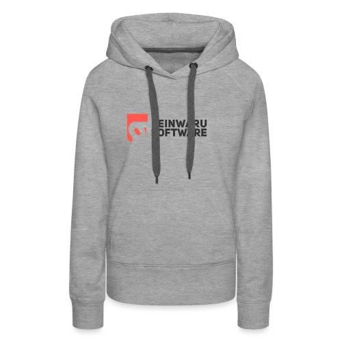 Feinwaru Full Logo - Women's Premium Hoodie