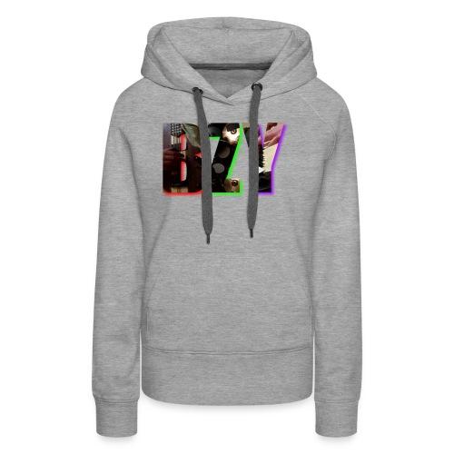 BZY - OFICJALNY PROJEKT - Bluza damska Premium z kapturem