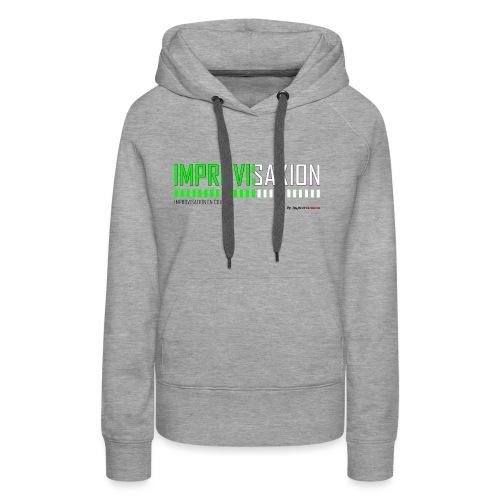 IMPROINPROGRESS - Sweat-shirt à capuche Premium pour femmes