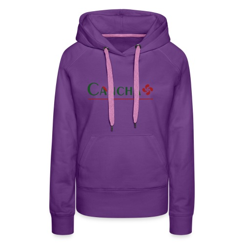Cancha - Sweat-shirt à capuche Premium pour femmes