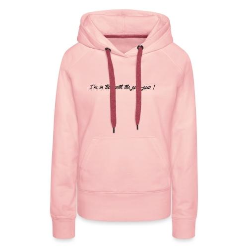 Pow-pow - Sweat-shirt à capuche Premium pour femmes