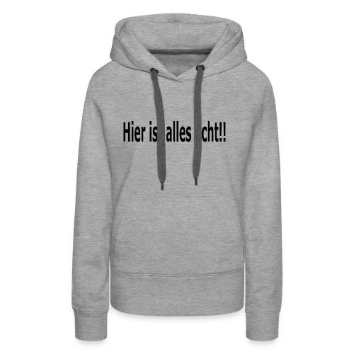 Echt - Frauen Premium Hoodie