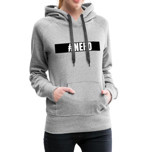 #NERD - Premium hettegenser for kvinner