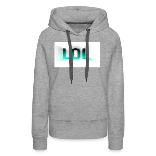 LOL Box Logo Schein Effekt - Frauen Premium Hoodie