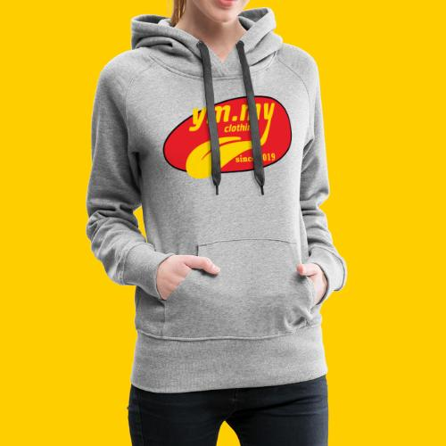 YM.MY clothing LOGO - Women's Premium Hoodie