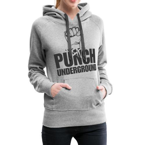 Punch Underground Black - Frauen Premium Hoodie