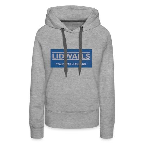 Lidwalls Stålbåtar - Premiumluvtröja dam