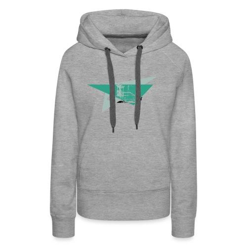 Schneeberg Fichtelshirt im Fichtelgebirge - Frauen Premium Hoodie