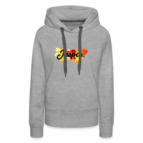 Jasper transparent - Vrouwen Premium hoodie