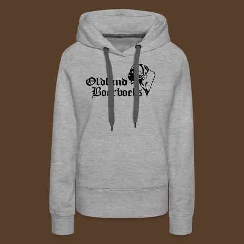 Logo Oldland Boerboels - Frauen Premium Hoodie