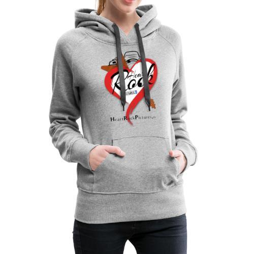 logo heartrockpictures alternate - Frauen Premium Hoodie