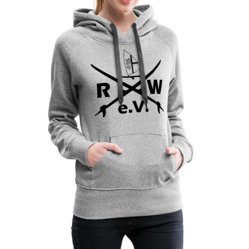 RWeV cross bw - Frauen Premium Hoodie