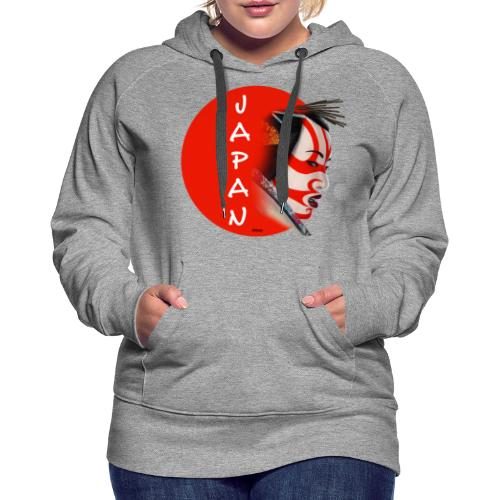 Japon - Sudadera con capucha premium para mujer