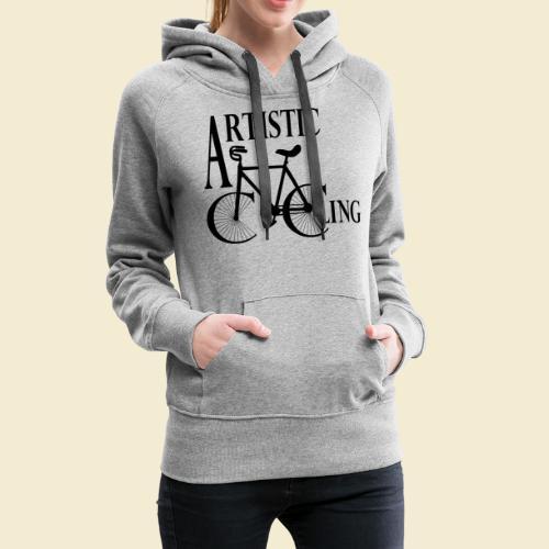 Kunstrad | Artistic Cycling - Frauen Premium Hoodie