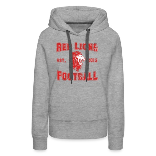 Football Vintage - Frauen Premium Hoodie