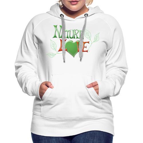 Nature Love - Frauen Premium Hoodie