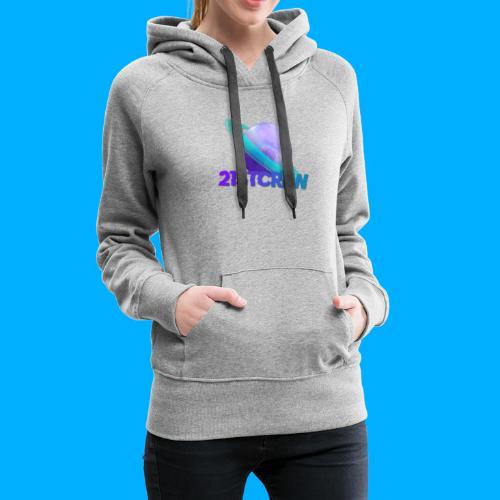 PurpleSaturn T-Shirt Design - Women's Premium Hoodie