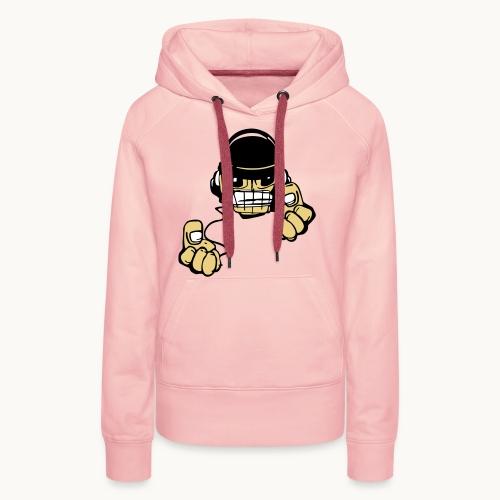 Micky DJ - Sweat-shirt à capuche Premium pour femmes