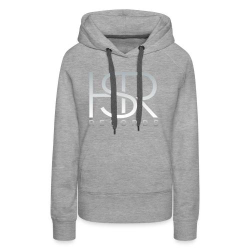HSR RECORDS - Felpa con cappuccio premium da donna
