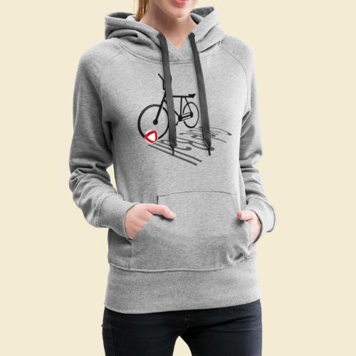 Radball | Cycleball Shadow - Frauen Premium Hoodie