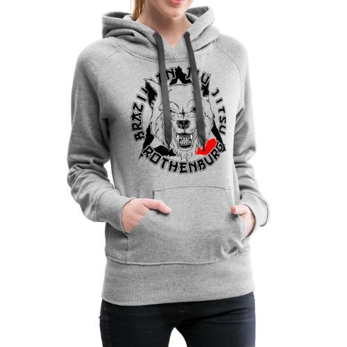 BJJ Wolf - Frauen Premium Hoodie