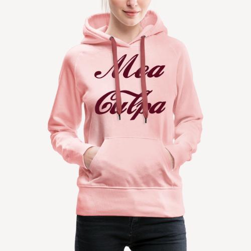 MEA CULPA - Women's Premium Hoodie