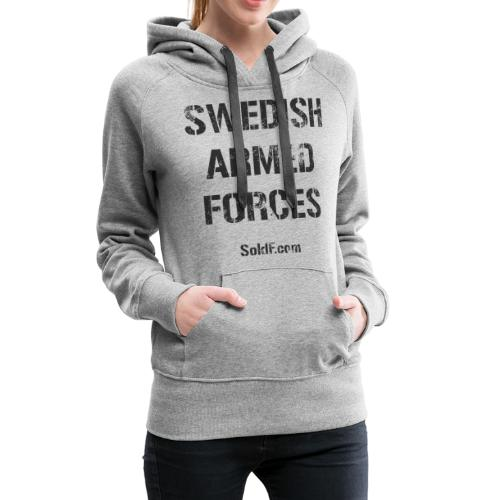 Swedish Armed Forces - Premiumluvtröja dam