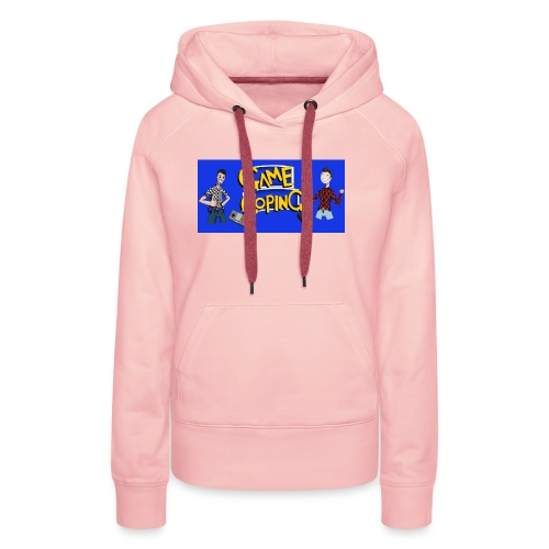 Game Coping Happy Banner - Women's Premium Hoodie