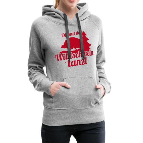 Wildschwein Frauen - Frauen Premium Hoodie