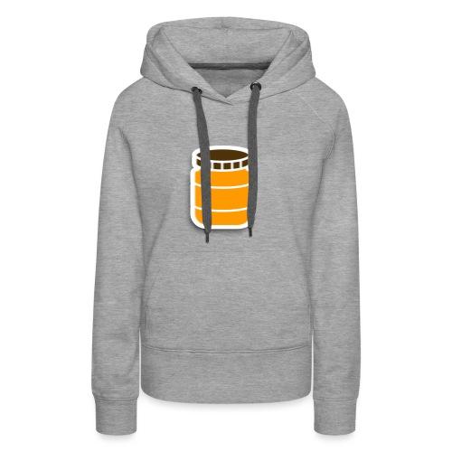 PindakaasBaas - Vrouwen Premium hoodie