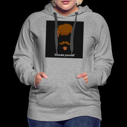 educate yourself - Women's Premium Hoodie
