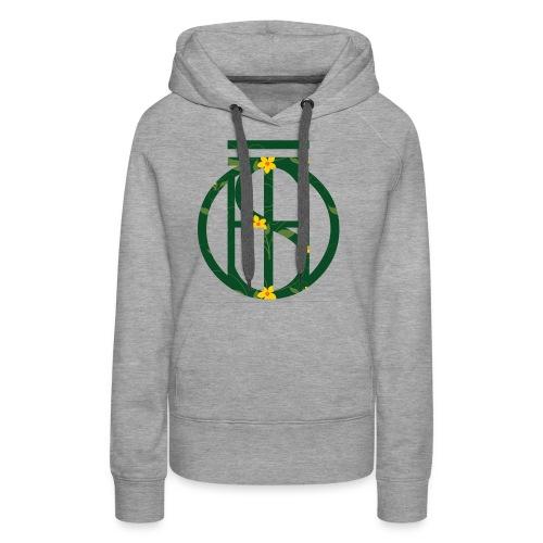 Flowerkleinhokkie gif - Vrouwen Premium hoodie