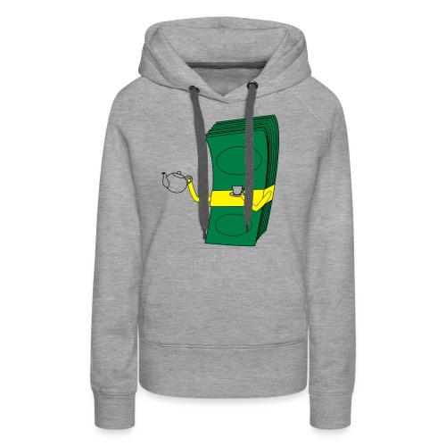 KeepCalmDrinkTea - Frauen Premium Hoodie