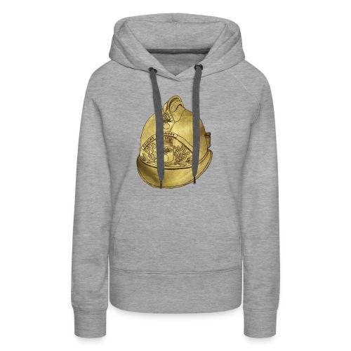 Casque pompier - Sweat-shirt à capuche Premium pour femmes