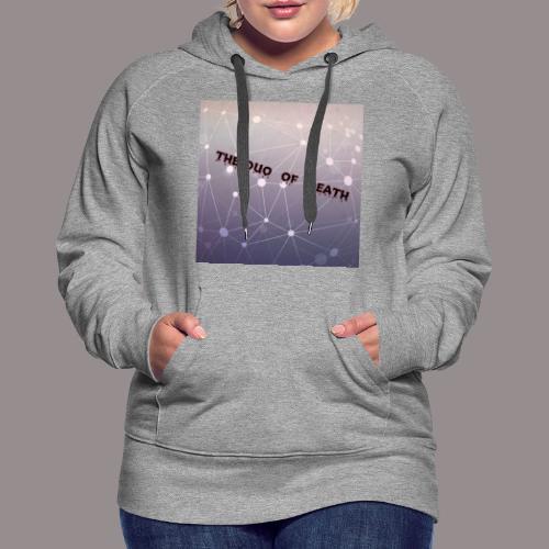 The duo of death logo - Vrouwen Premium hoodie