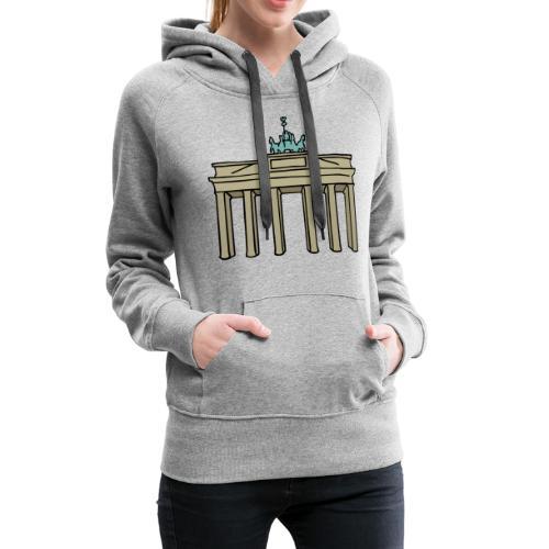 Berlin Brandenburger Tor - Frauen Premium Hoodie