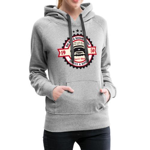 Hot Rod and Kustom Garage - Frauen Premium Hoodie