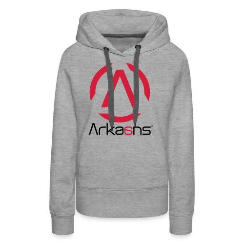 Arkaans Global - Sweat-shirt à capuche Premium pour femmes
