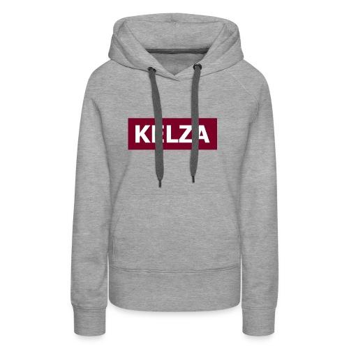 Kelza - Sweat-shirt à capuche Premium pour femmes