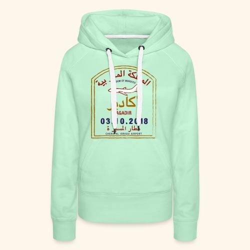 Agadir - Sweat-shirt à capuche Premium pour femmes