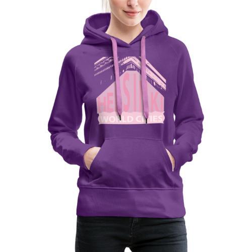 Helsinki light pink - Women's Premium Hoodie