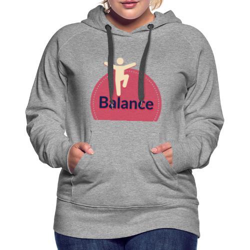 Balance red - Women's Premium Hoodie