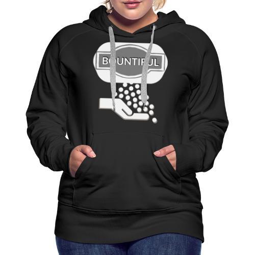 Bontiul gray white - Women's Premium Hoodie