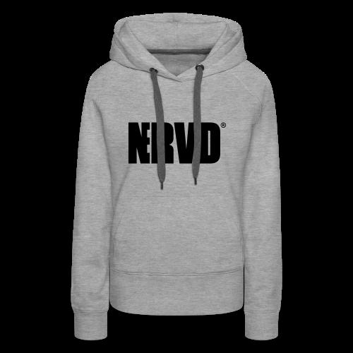 Official Nerved® Logo Black - Women's Premium Hoodie