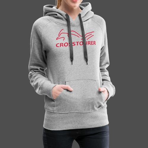 Crosstourer - Bluza damska Premium z kapturem
