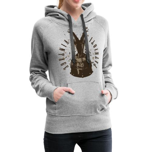 Patrioti Vintage Skenderbeg - Frauen Premium Hoodie