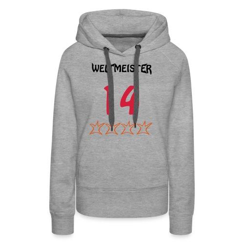 Weltmeister 2014 - Frauen Premium Hoodie