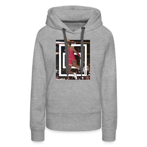 The Legend - Sweat-shirt à capuche Premium pour femmes