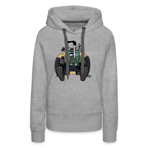 0163 F - Vrouwen Premium hoodie
