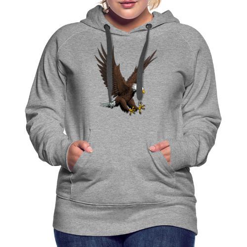 Adler sturzflug - Frauen Premium Hoodie